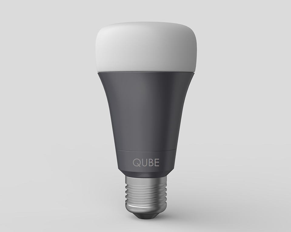 Qube Smart Led Bulb The Awesomer