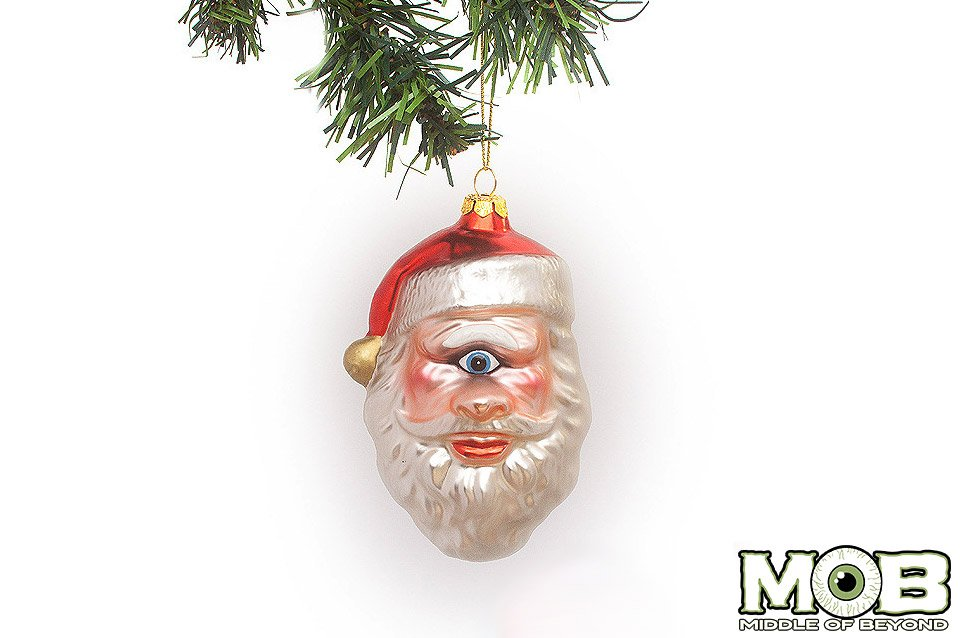 One-eyed Saint Nick Ornament