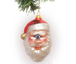 Santa Clops Ornament