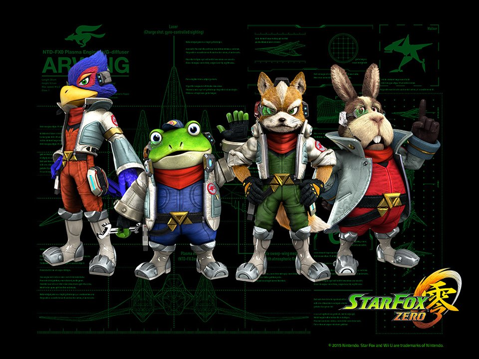 Star Fox Zero (Trailer)