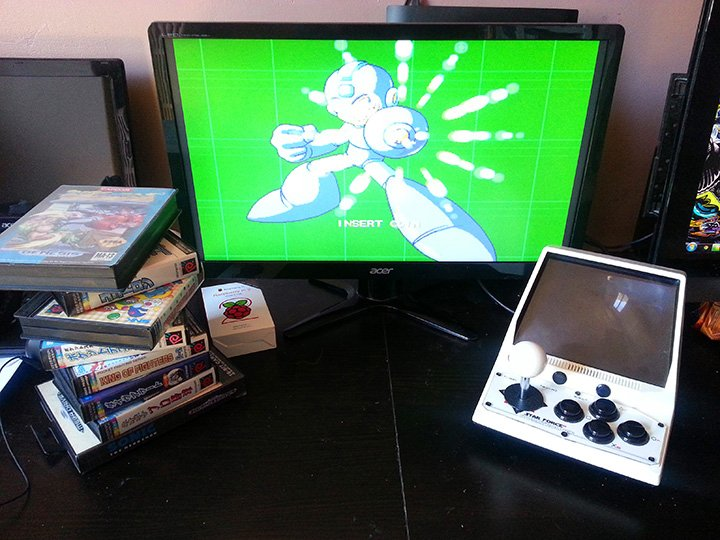 Starforce Pi Mini Arcade Machine