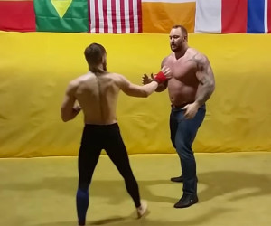 UFC Featherweight vs The Mountain