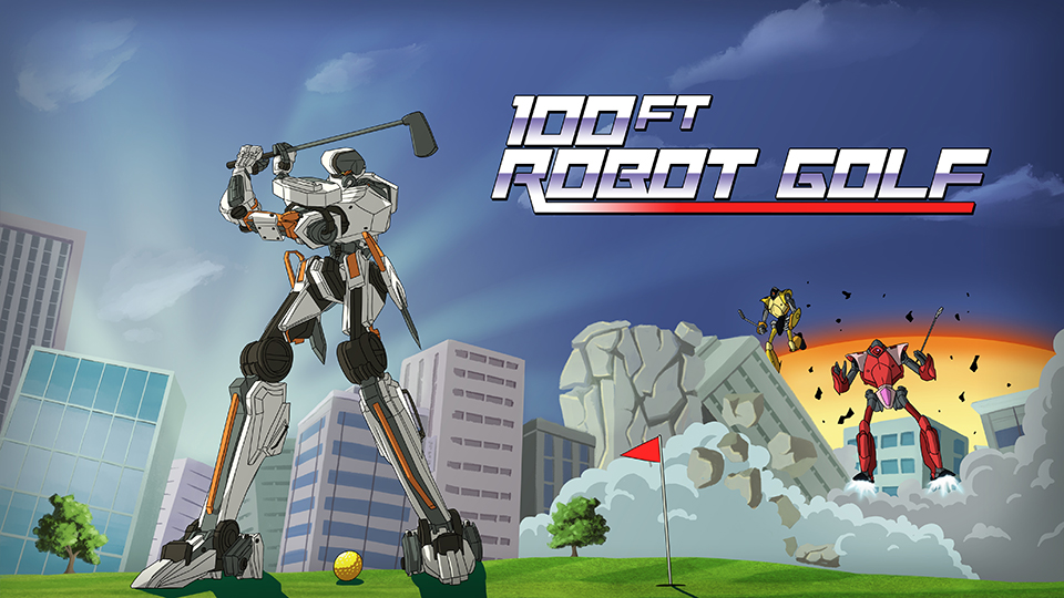 100ft. Robot Golf (Trailer)