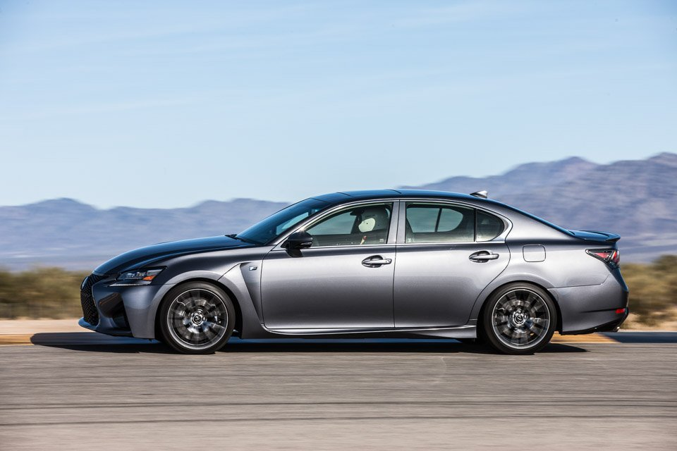 Hot Laps in the Lexus GS F
