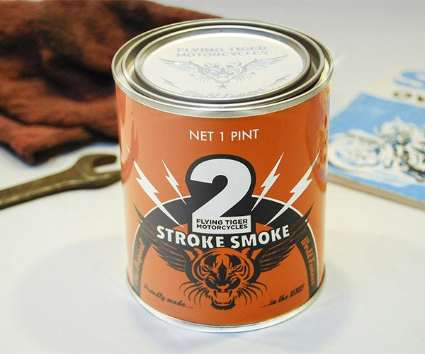 2-Stroke Smoke Candle