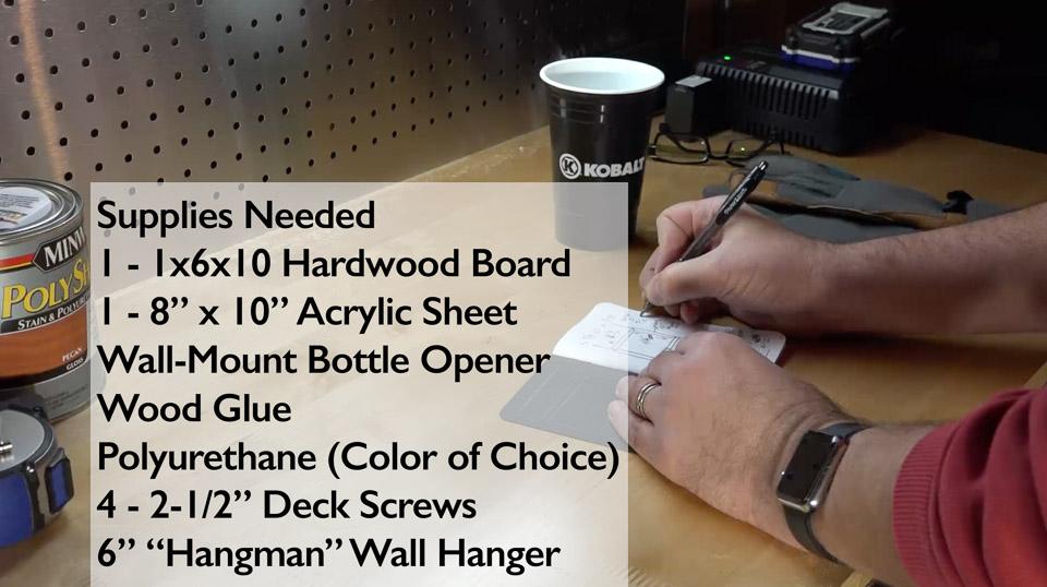 Build a Better Bottle Opener