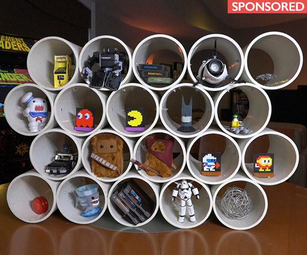 Shoe Cubby Hole Storage. 15 Cubby Stackable Shoe Rack