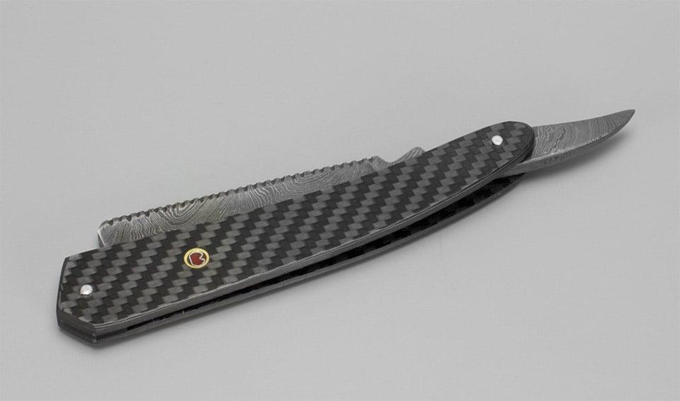Carbon Fiber Straight Razor