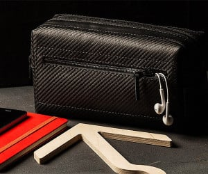 Carbon Fiber Toiletry Bag