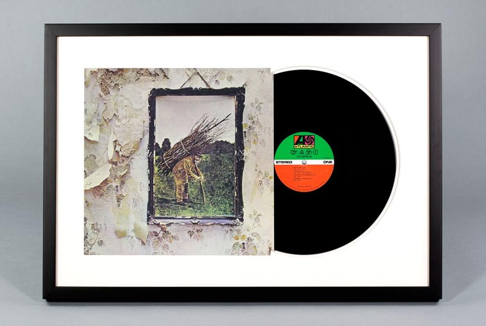 Framed Vinyl Records