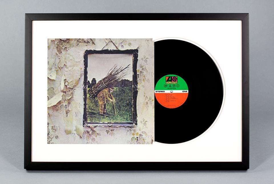 Framed Vinyl Records - The Awesomer