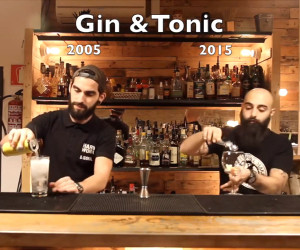 Gin & Tonic: 2005 vs. 2015