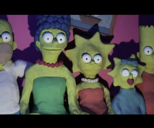 Simpsons Gory Couch Gag