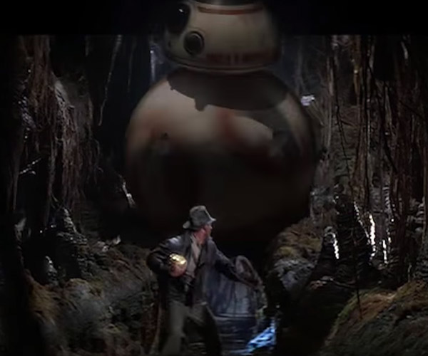 Cool indiana jones on The Awesomer