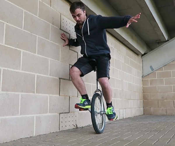 Learning to Ride a Unicycle