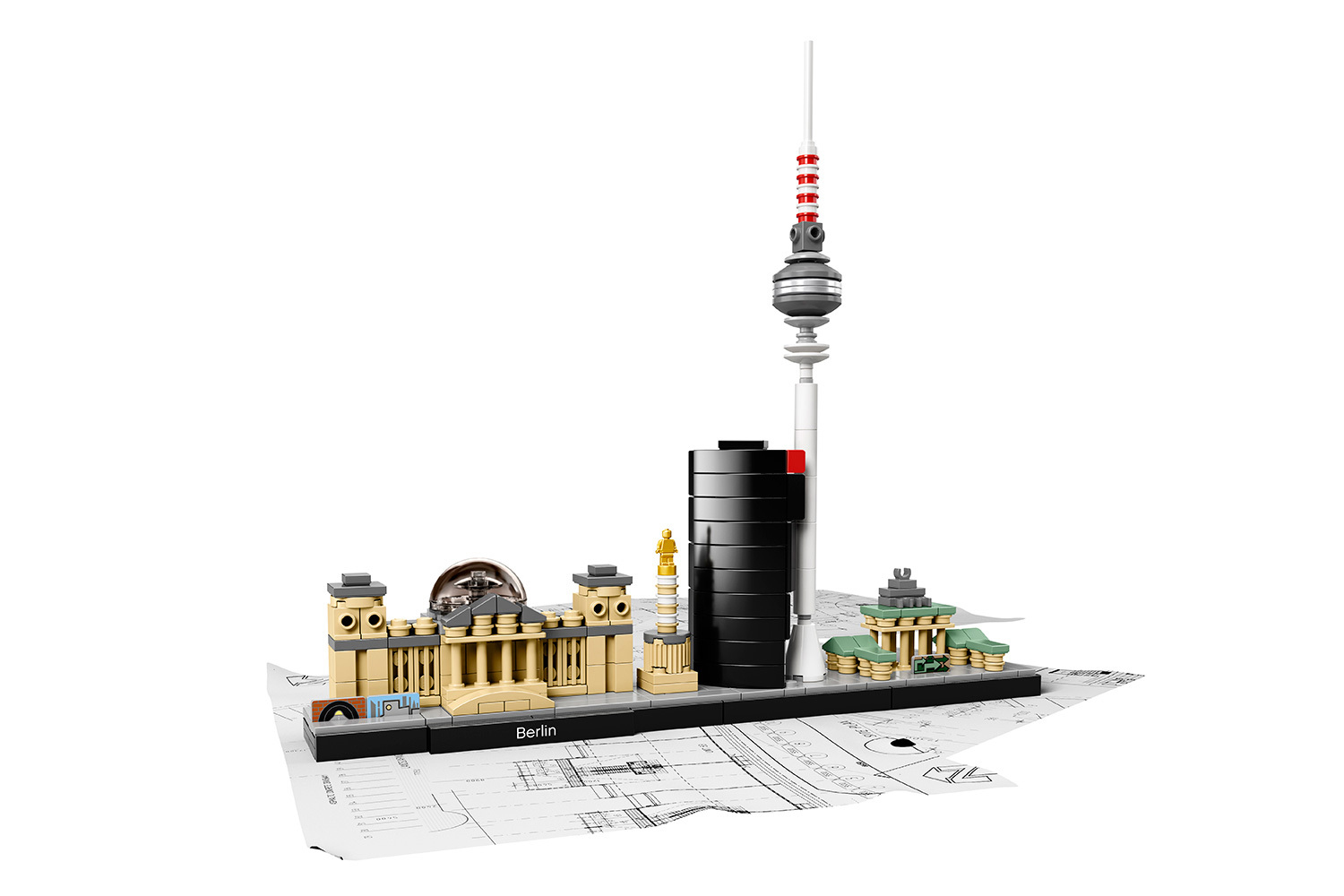 Lego architecture skyline collection the awesomer for Lego architecture new york