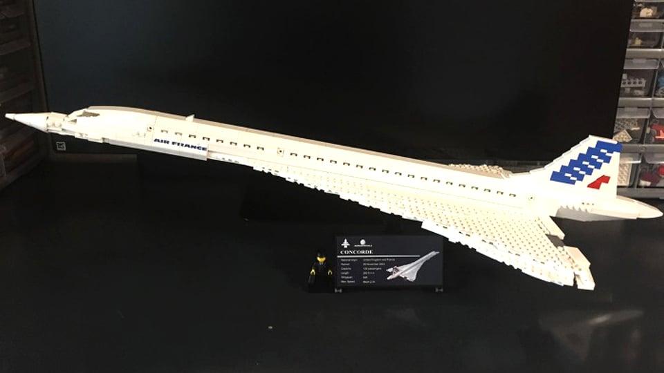 LEGO Concorde Concept