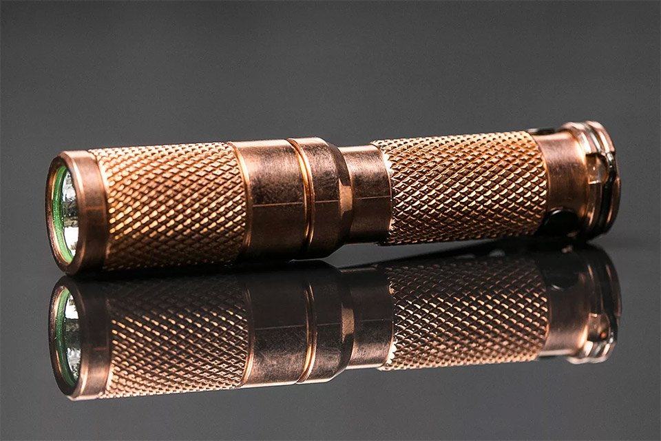 Maratac Copper Flashlight