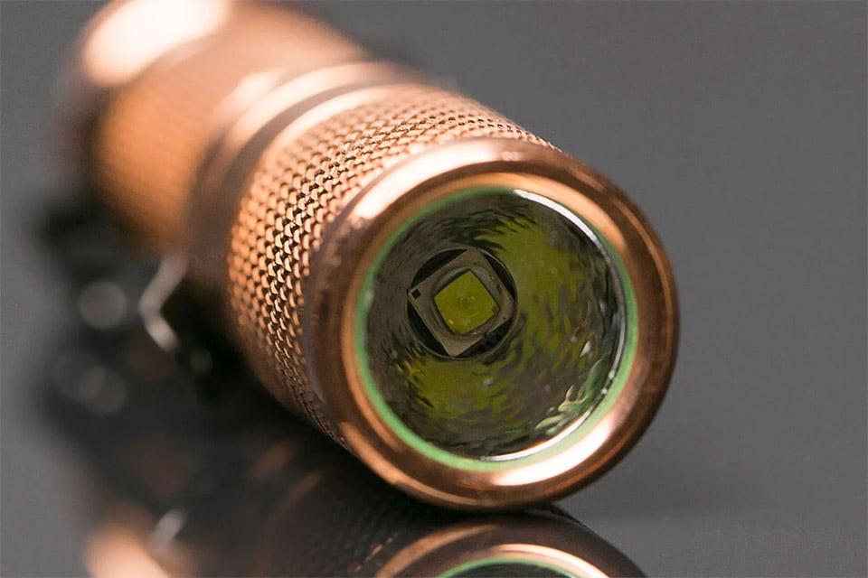 Maratac Copper Flashlight
