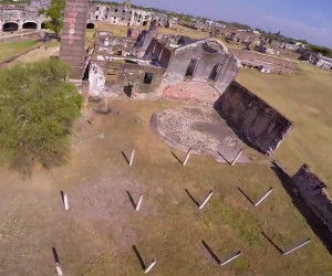 Quadcopter Racing Through Ruins