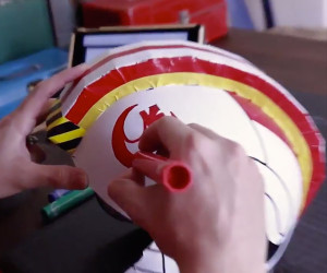 Build Your Own X-Wing Helmet
