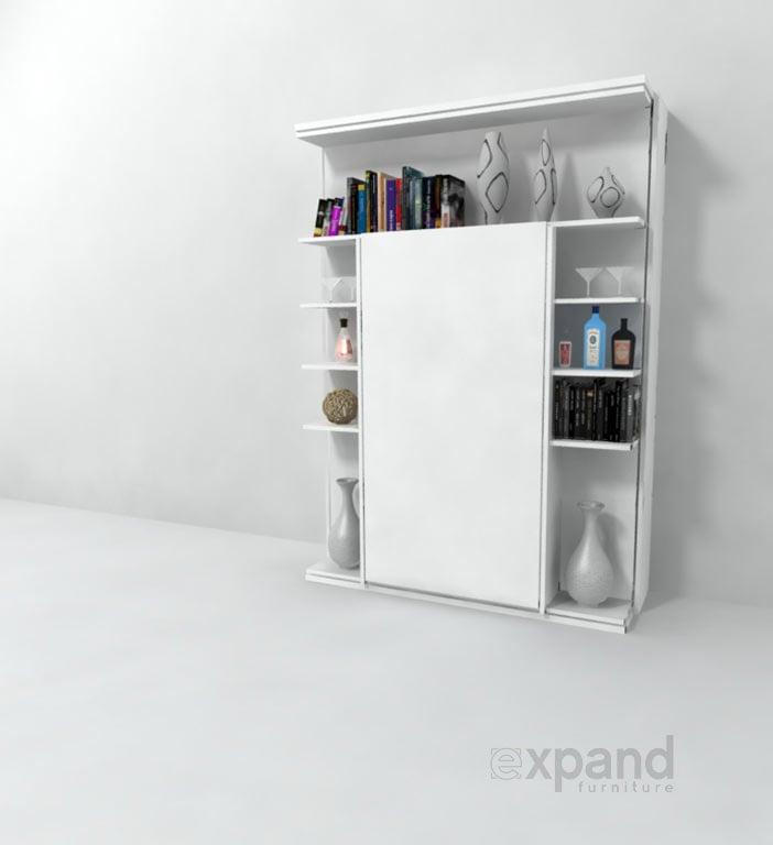 Revolving Bed & Bookshelf