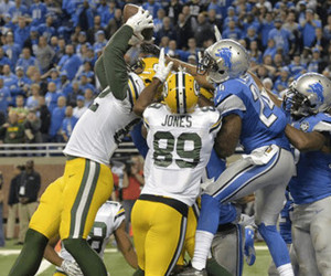 Rodgers to Rodgers Hail Mary