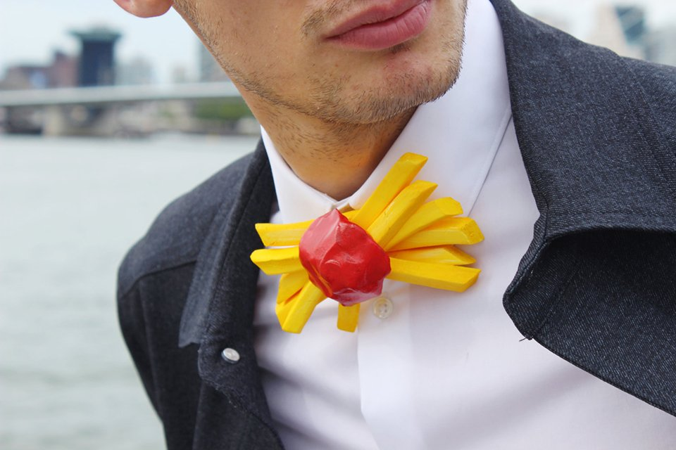 Rommy Debommy Food Bow Ties