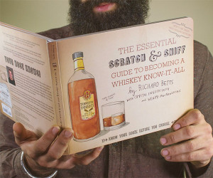 Scratch and Sniff Whiskey Guide