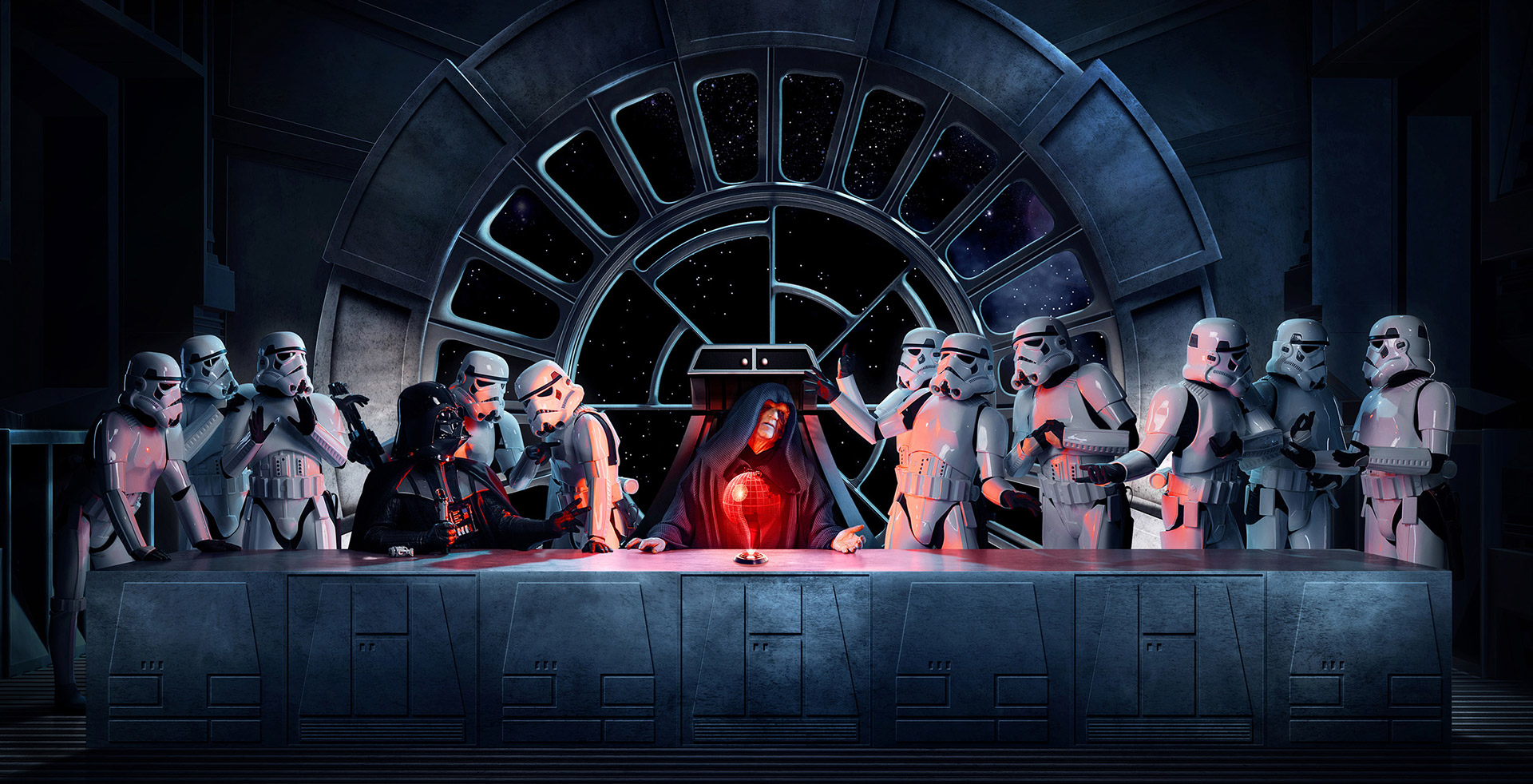 Star Wars x The Last Supper