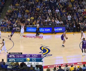 Casspi & Curry Shootout