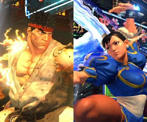 Street Fighter V: The Characters