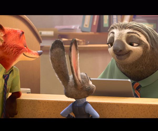 Zootopia Sloth Trailer