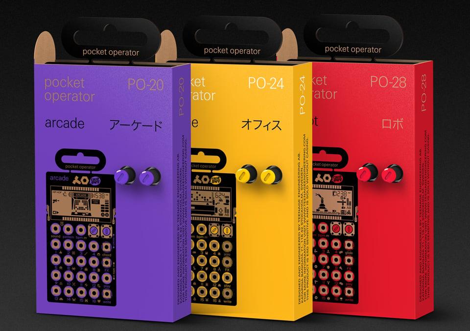 2016 Pocket Operators