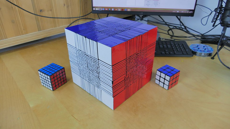 22x22x22 Rubik's Cube