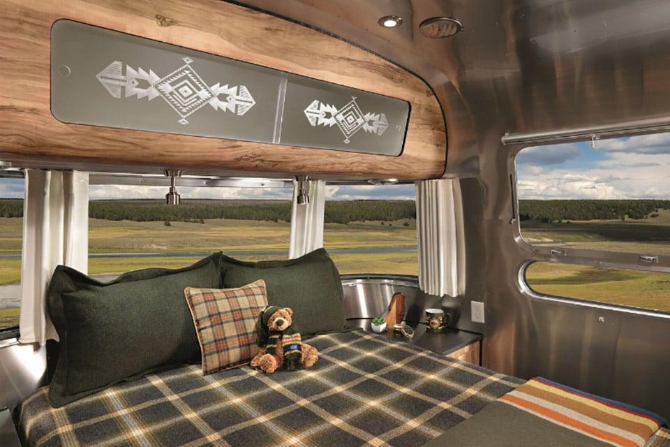 Airstream x Pendleton Trailer