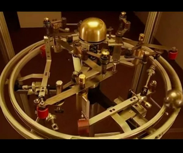 Almost) Perpetual Motion Machine