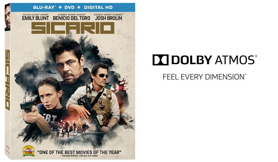 Win: Sicario on Blu-Ray