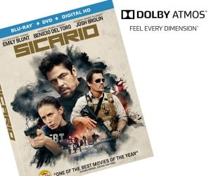 Win: Sicario on Blu-Ray