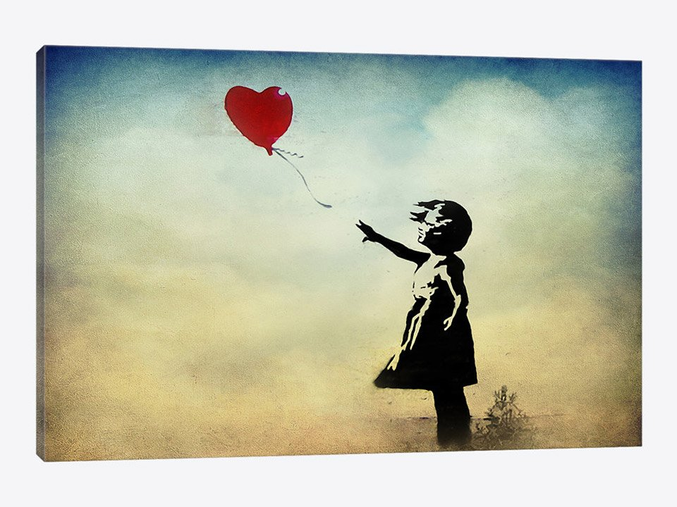 Deal: Banksy Canvas Prints