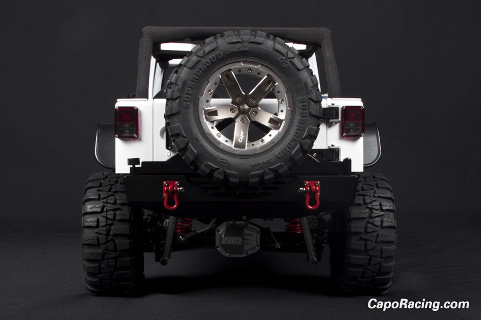 Capo 1/8th Scale Jeep Wrangler Kit