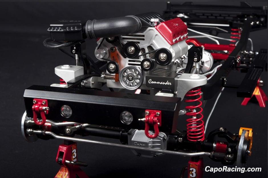 Capo 1/8th Scale Jeep Wrangler Kit