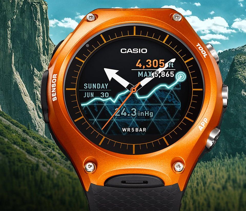 Casio WSD-F10 Smart Watch