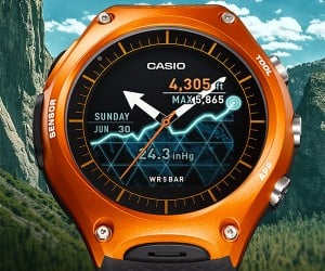 Casio WSD-F10 Smart Watch