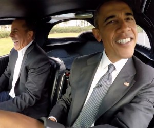 Comedians in Cars: President Obama