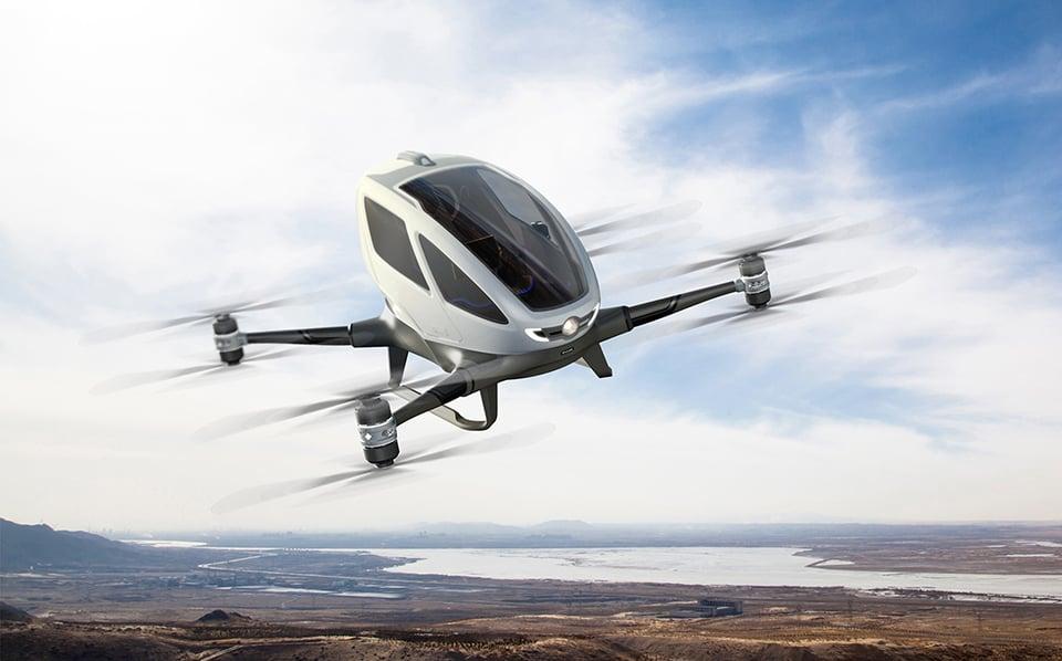 Ehang 184 Autonomous Aerial Vehicle