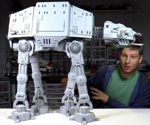 Giant LEGO AT-AT Time-Lapse