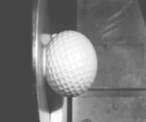 Golf Ball vs. Wall