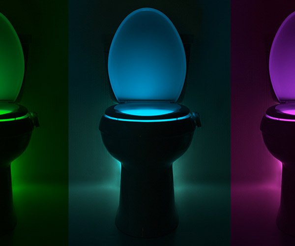 Deal: IllumiBowl 2.0 Toilet Night Light