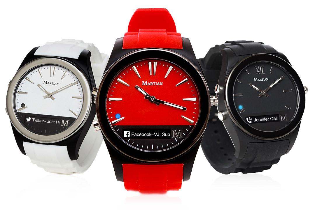 Deal: Martian Notifier Smartwatch